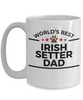 Irish Setter Dog Dad Coffee Mug