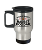 Barbet Dog Lover Gift World's Best Dad Birthday Father's Day Stainless Steel Insulated Travel Coffee Mug