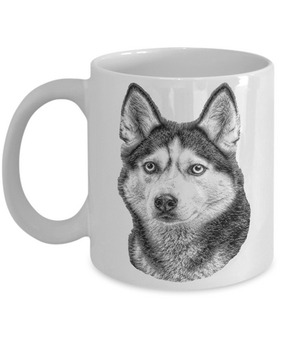 Siberian Husky Dog Breed Dad Mug