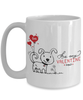 Be My Valentine Cute Puppy Mug