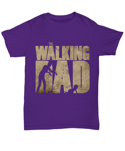 Funny Father's Day T Shirt - The Walking Dad
