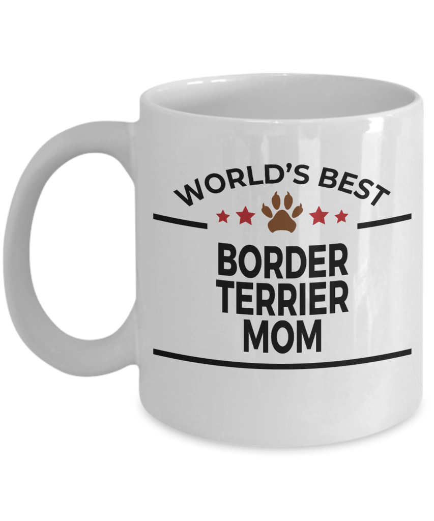 Border Terrier Dog Mom Coffee Mug