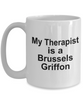Brussels Griffon Dog Therapist Coffee Mug