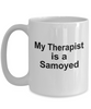 Samoyed Dog Therapist Coffee Mug