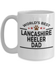 Lancashire Heeler Dog Dad Coffee Mug