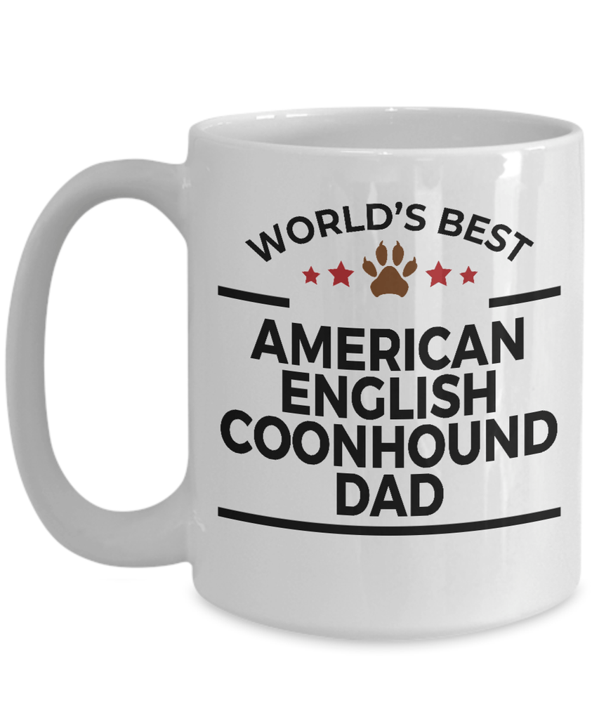 American English Coonhound Dog Dad Mug
