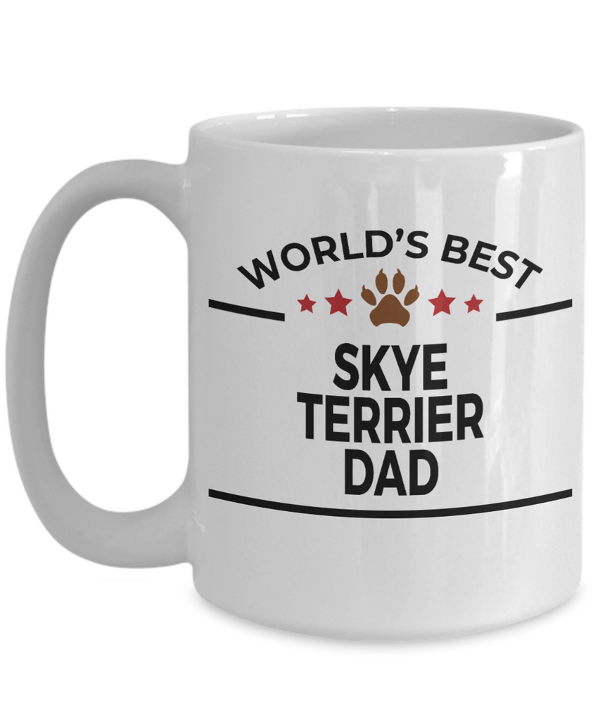 Skye Terrier Dog Dad Coffee Mug