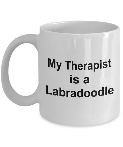 Labradoodle Dog Therapist Coffee Mug