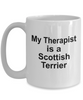 Scottish Terrier Dog Funny Therapist Coffee Mug