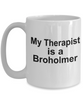 Broholmer Dog Therapist Coffee Mug