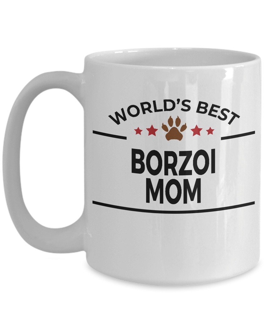 Borzoi Dog Mom Coffee Mug