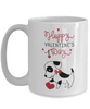 Happy Valentine's Day Cute Puppy Coffee Mug