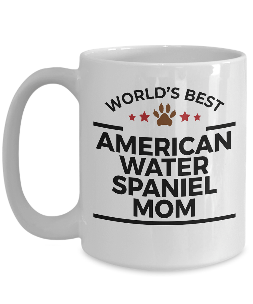 American Water Spaniel Dog Mom Coffee Mug