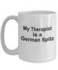 German Spitz Dog Owner Lover Funny Gift Therapist White Ceramic Coffee Mug