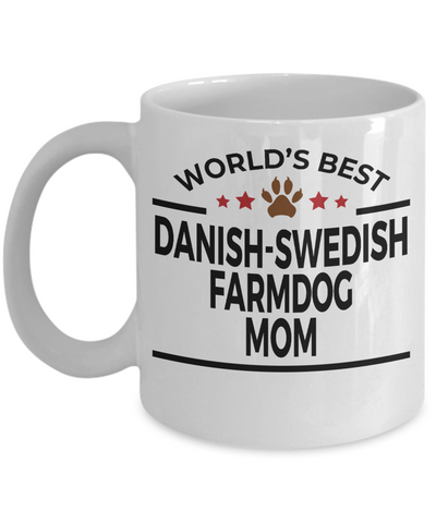 Danish-Swedish Farmdog Mom Coffee Mug