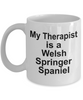 Welsh Springer Spaniel Dog Owner Lover Funny Gift Therapist White Ceramic Coffee Mug