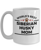 Siberian Husky Dog Mom Coffee Mug