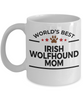 Irish Wolfhound Dog Mom Coffee Mug
