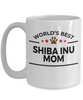 Shiba Inu Dog Mom Coffee Mug
