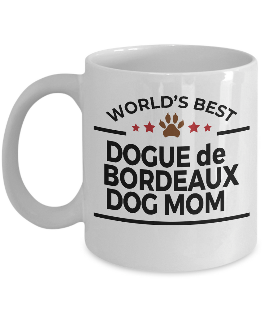 Dogue de Bordeaux Dog Mom Mug
