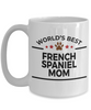 French Spaniel Dog Mom Coffee Mug