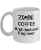 Architectural Engineer Zombie Gift White Ceramic Coffee Cup