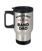 Band Father Gift World's Best Dad Stainless Steel Insulated Travel Coffee Mug