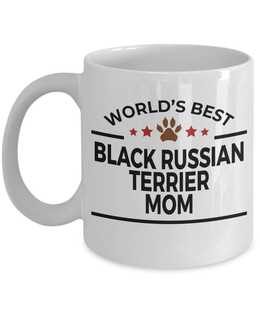 Black Russian Terrier Dog Mom Coffee Mug