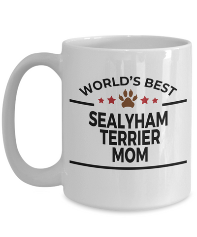 Sealyham Terrier Dog Lover Mom Coffee Mug
