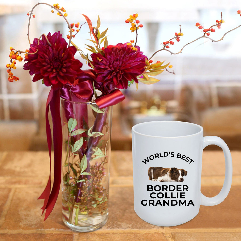Border Collie Grandma Coffee Mug