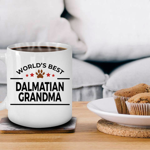 Dalmatian Dog Grandma Coffee Mug