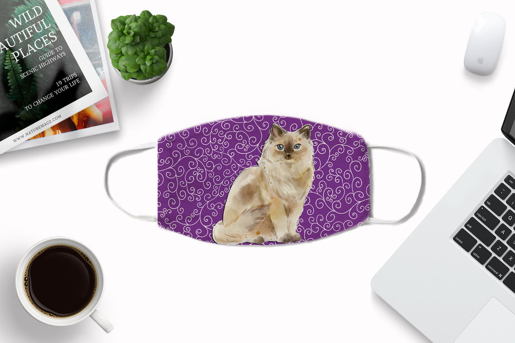 Ragdoll Cat Face Mask