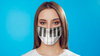 Piano Keys Face Mask