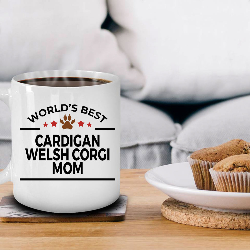 Cardigan Welsh Corgi Dog Mom Coffee Mug