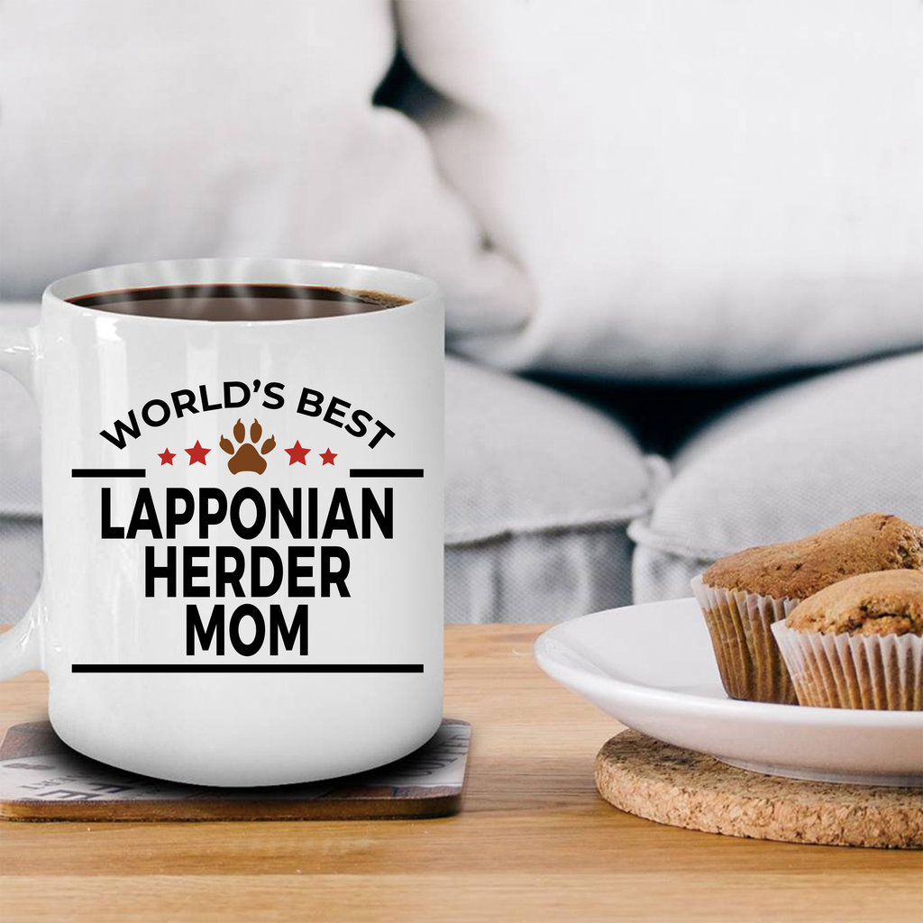 Lapponian Herder Dog Mom Coffee Mug