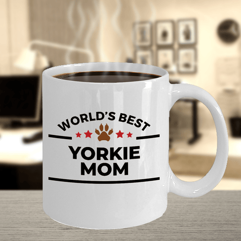 Yorkshire Terrier Mom Coffee Mug