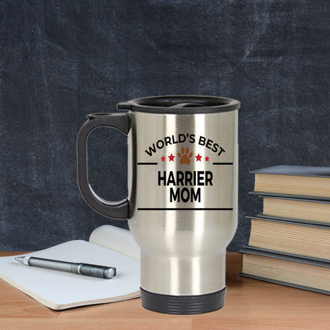Harrier Dog Mom Travel Mug