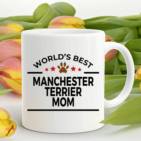Manchester Terrier Dog Mom Coffee Mug
