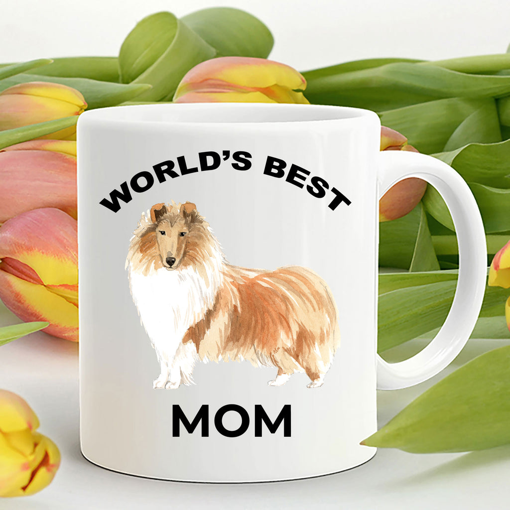 Collie Dog Best Mom Coffee Mug