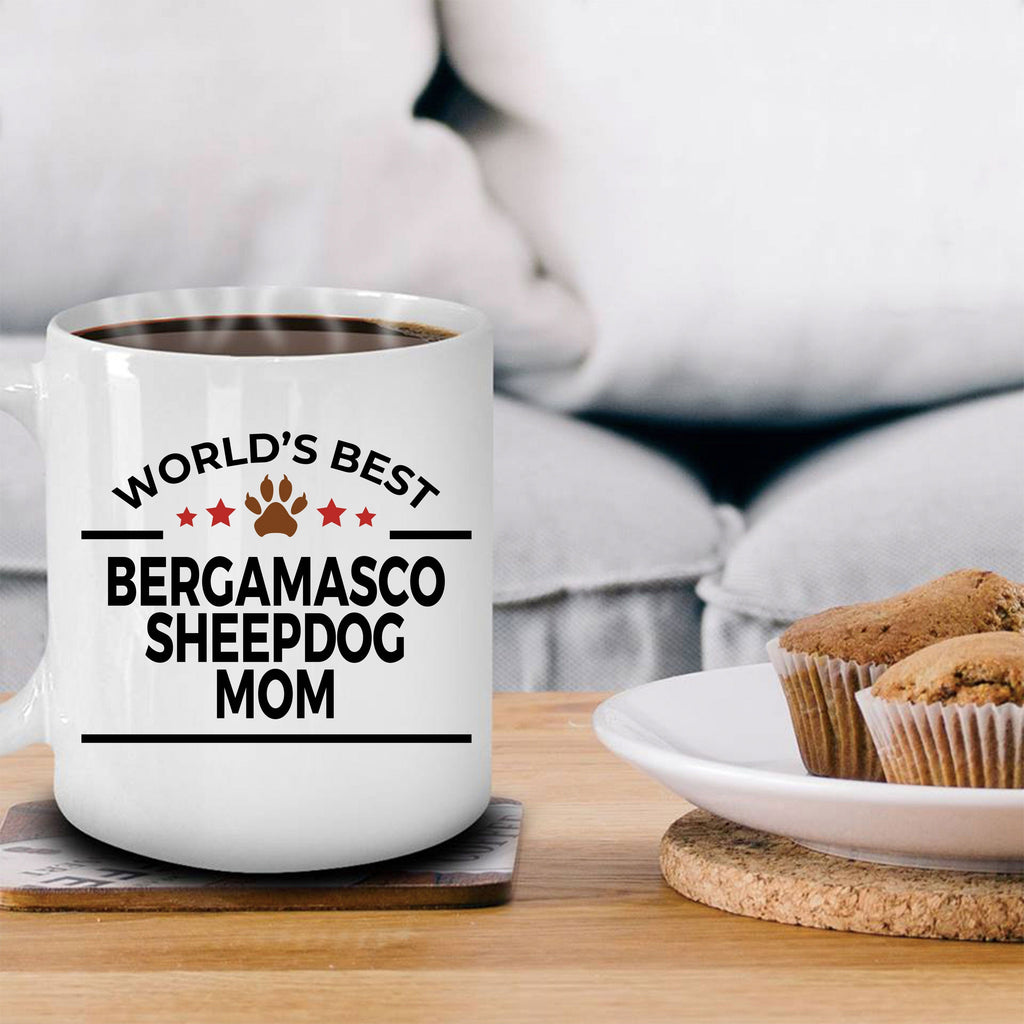 Bergamasco Sheepdog Mom Coffee Mug