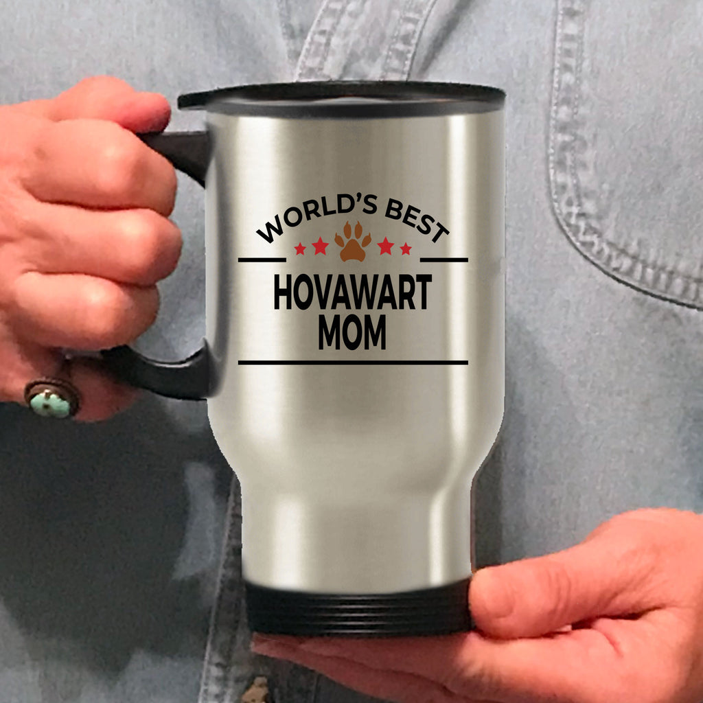 Hovawart Dog Lover Gift World's Best Mom Birthday Mother's Day Stainless Steel Insulated Travel Coffee Mug