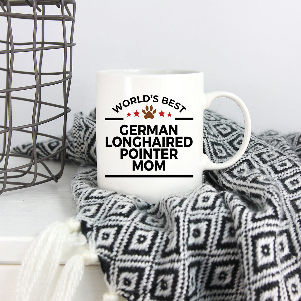 German Longhaired Pointer Dog Mom Mug