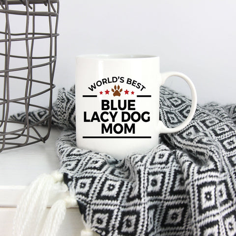 Blue Lacy Dog Mom Coffee Mug