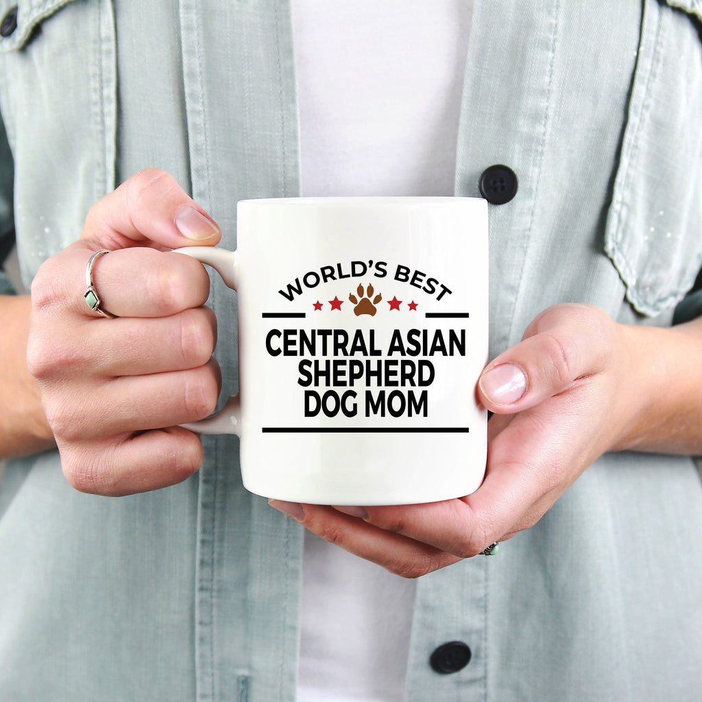 Central Asian Shepherd Dog Mom Coffee Mug