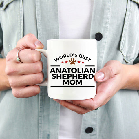 Anatolian Shepherd Dog Mom Coffee Mug