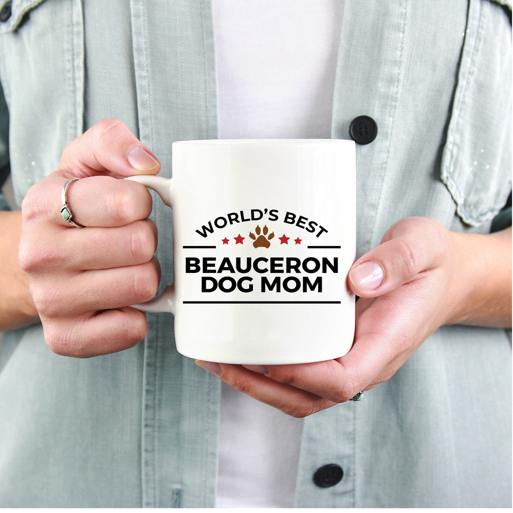 Beauceron Dog Mom Coffee Mug