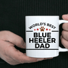 Best Ever Blue Heeler Dog Dad Ceramic Coffee Mug