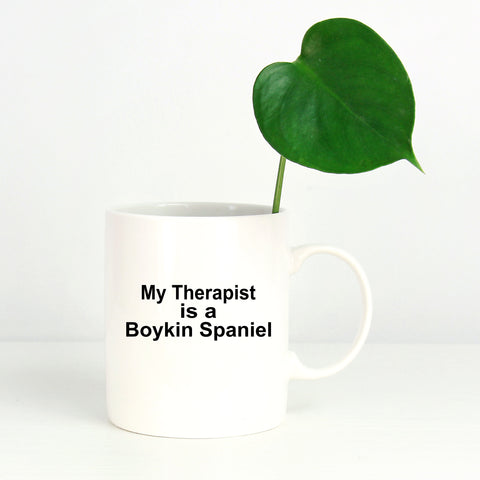 Boykin Spaniel Dog Owner Lover Funny Gift Therapist White Ceramic Coffee Mug