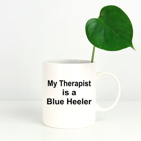Blue Heeler Dog Therapist Coffee Mug