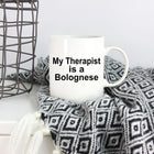 Bolognese Dog Therapist Coffee Mug